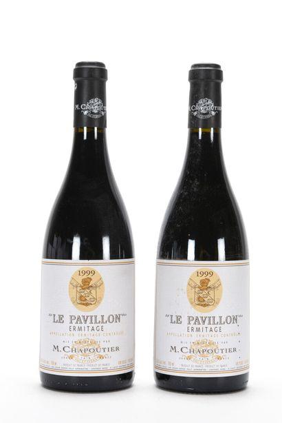 2 B ERMITAGE LE PAVILLON Chapoutier 1999