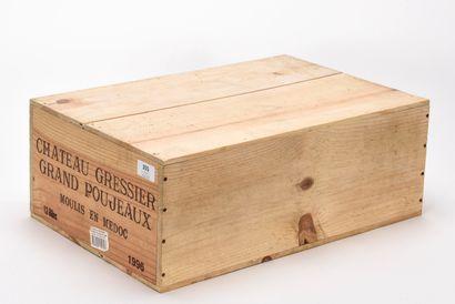 12 B CHÂTEAU GRESSIER GRAND POUJEAUX (Caisse...