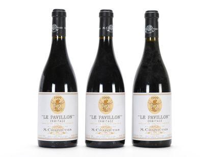 3 B ERMITAGE LE PAVILLON Chapoutier 1999