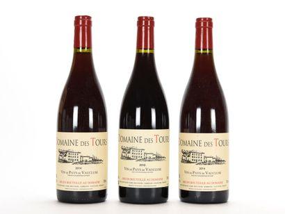 2 B VIN DE PAYS DE VAUCLUSE Rouge Domaine...