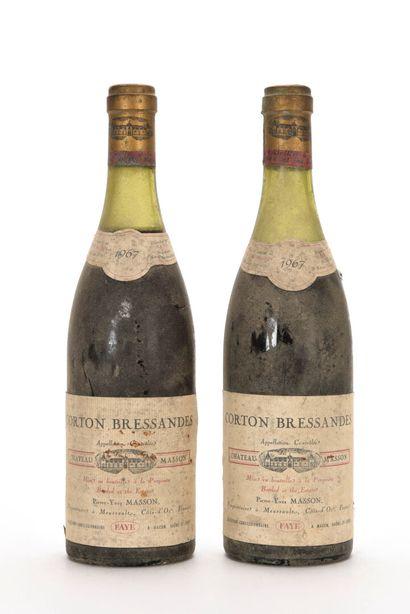 2 B CORTON-BRESSANDES (Grand Cru) (1 à 4;...
