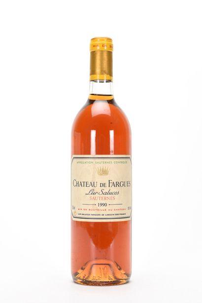 1 B CHÂTEAU DE FARGUES Sauternes 1990