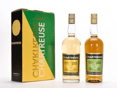 COFFRET DE 2 CHARTREUSES TARRAGONE COMPRENANT...