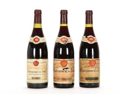 3 B CHÂTEAUNEUF DU PAPE Rouge (2 e.l.a; 1...