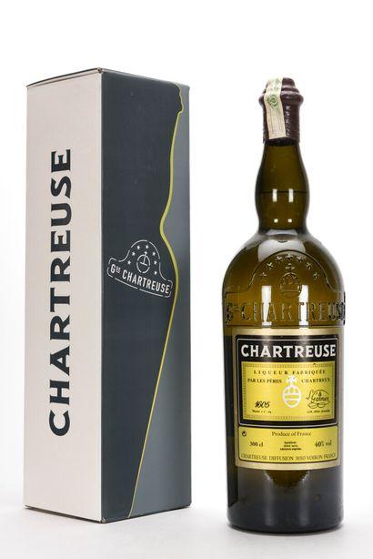 1 JERO CHARTREUSE JAUNE 300 cl % 42% (Caisse...