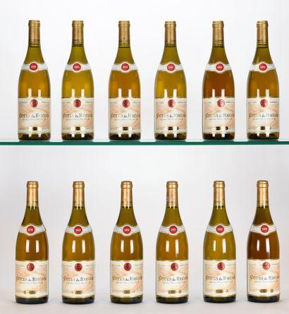 12 B CÔTES DU RHÔNE Blanc Guigal 2002