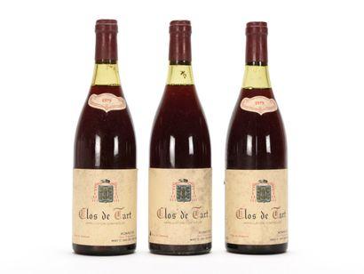 3 B CLOS DE TART (Grand Cru) (2 à 2,5 et...