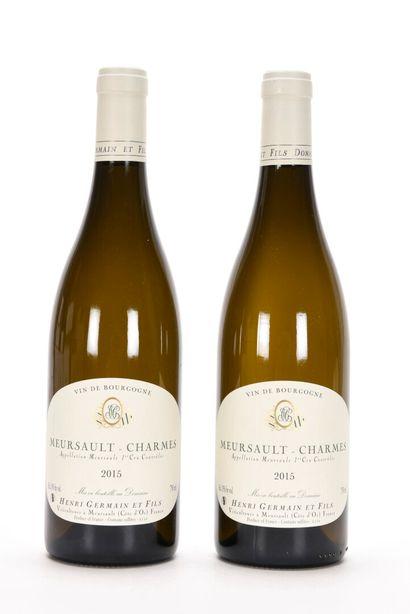 2 B MEURSAULT-CHARMES (1er Cru) Henri Germain...