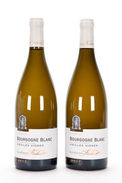 2 B BOURGOGNE BLANC VIEILLES VIGNES Jean-Philippe...