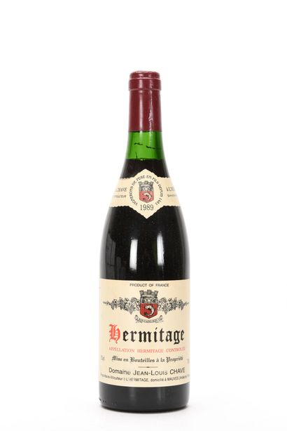 1 B HERMITAGE Rouge Jean-Louis Chave 198...