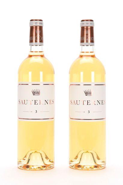 2 B N° 3 DE CHÂTEAU D'YQUEM Sauternes NM...