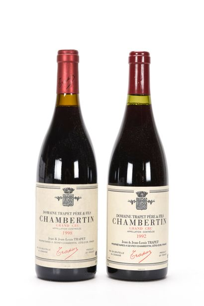 1 B CHAMBERTIN (Grand Cru) Domaine Trapet...