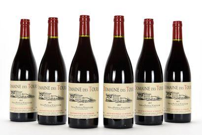 6 B VIN DE PAYS DE VAUCLUSE Rouge Domaine...