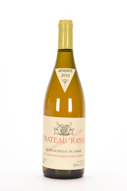 1 B CHÂTEAUNEUF DU PAPE Blanc Château Rayas...