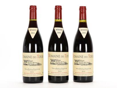 3 B VIN DE PAYS DE VAUCLUSE MERLOT Domaine...