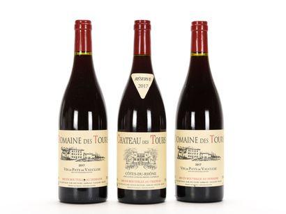 2 B VIN DE PAYS DE VAUCLUSE Rouge (e.l.a.)...