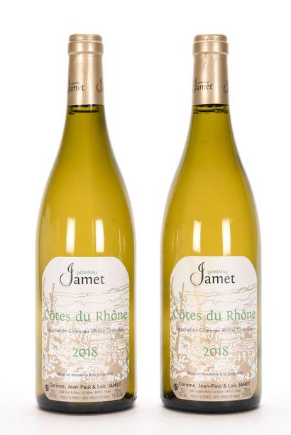 2 B CÔTES DU RHÔNE Blanc Domaine Jamet 2...