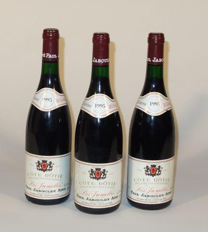 3 Côte-Rôtie les Jumelles 1995 Jaboulet ...