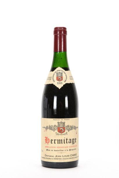 1 B HERMITAGE Rouge (3 cm; e.l.s.) Jean-Louis...