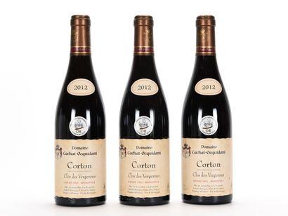 3 B CORTON CLOS DES VERGENNES (Grand Cru)...