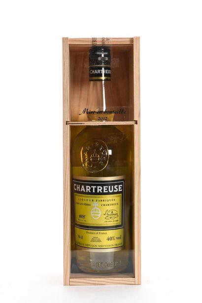 1 B CHARTREUSE JAUNE VOIRON 70 cl 40% (Caisse...