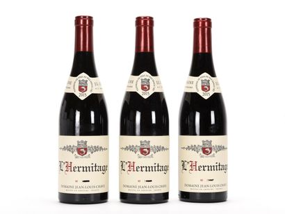 3 B L'HERMITAGE Rouge (e.a.) Jean-Louis Chave...
