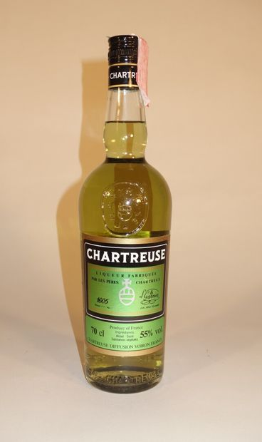 1 B CHARTREUSE VERTE VOIRON PÉRIODE 1966-1982...