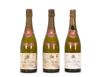 3 B CHAMPAGNE BRUT Rosé (1 e.l.a; 2 e.a;...