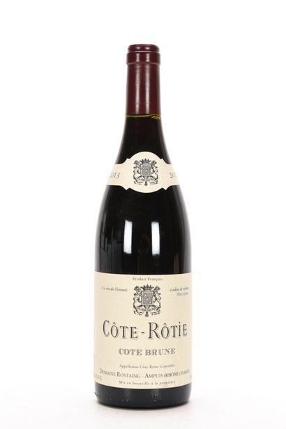 1 B CÔTE-RÔTIE CÔTE BRUNE (étiquette plissée)...