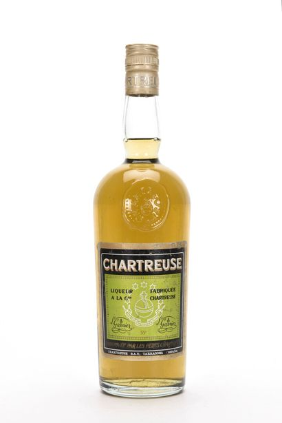 1 B CHARTREUSE VERTE TARRAGONE PÉRIODE 1973-1985...