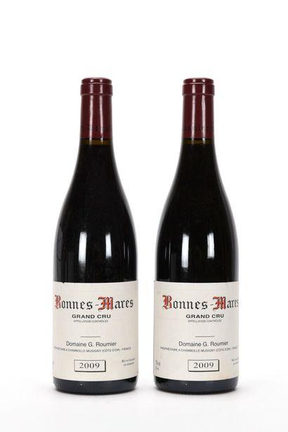 2 B BONNES-MARES (Grand Cru) (e.l.a.) Domaine...