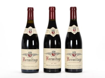 1 B HERMITAGE Rouge Jean-Louis Chave 1998...