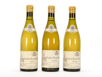 1 B CHABLIS VAILLONS (1er Cru) Domaine François...