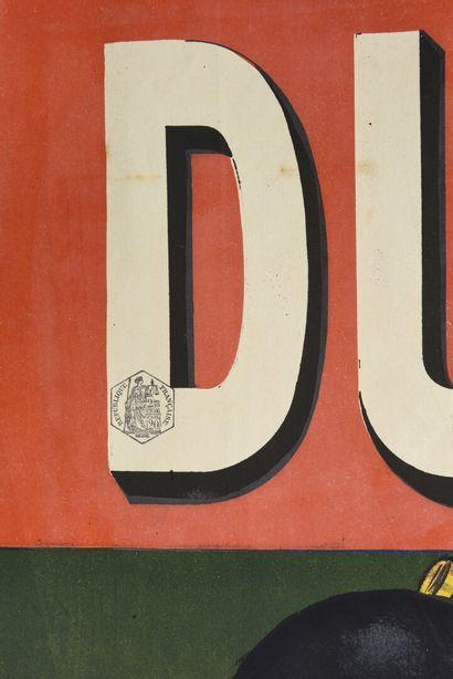 QUINQUINA DUBONNET, affiche double dos  100 x 70 (pour chaque affiche)  (rousse...