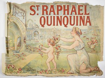 H GERBAULT, Saint Raphael, quinquina, Camis...