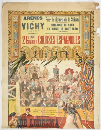 Arènes de Vichy courses espagnoles  Complète...