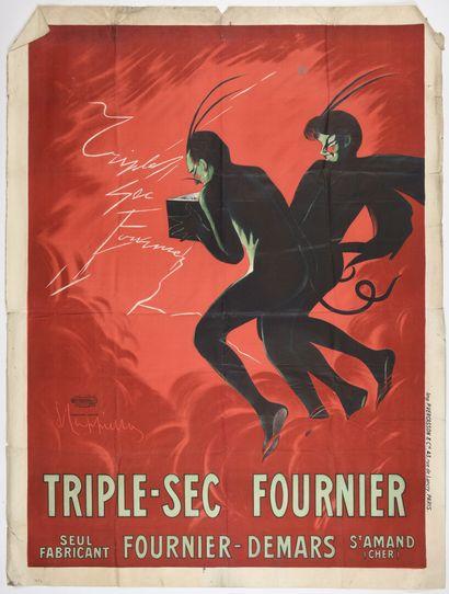 CAPPIELO Triple sec Fournier, Vercasson  Cachet...