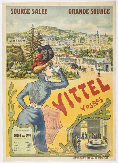 Georges DARASSE, Vittel Vosges  105 x 75...