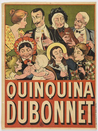 Quiquina Dubonnet  Charles Verneau  80 x...