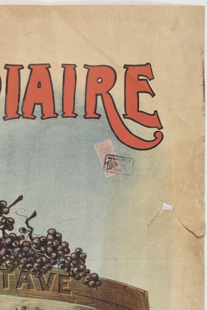 PAL, A bas l'intermédiaire, Fabre Producteur Nimes, Paul DUPONT  150 x 110 cm  (manque,...