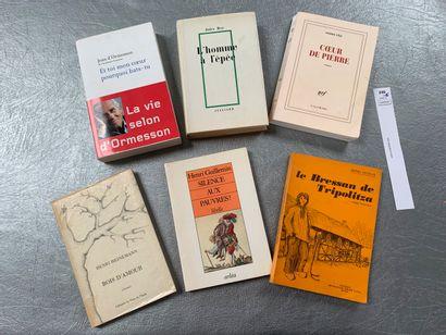 [Littérature] Ensemble de 6 volumes avec...