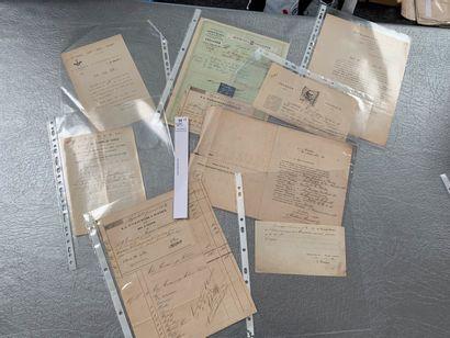 [Franc-maçonnerie]. 8 documents franc-maçonniques...