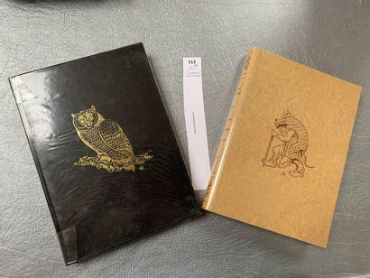 [Périgord]. Un ensemble de 2 volumes: Vieilles...