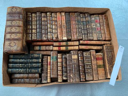 Un ensemble de 43 volumes reliés XVIIIe/XIXe...