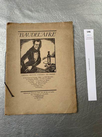 Baudelaire. Treize petits poèmes en prose....