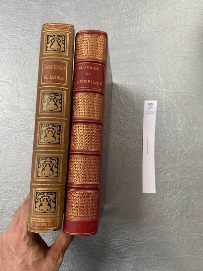 Un ensemble de 2 volumes XIXe: Saint Ignace...