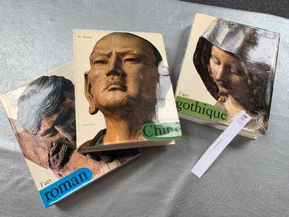 [Mazenod]. Un ensemble de 3 volumes: L'art...