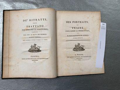 Jean-Baptiste de Rubejs. Des portraits ou...