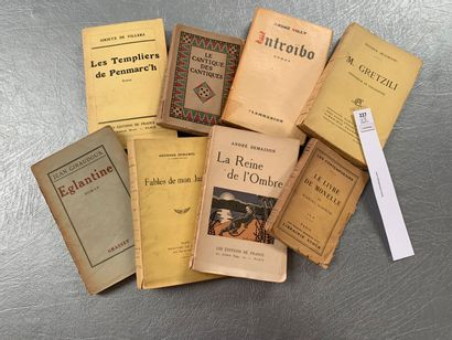 [Littérature] Ensemble de 8 volumes avec...