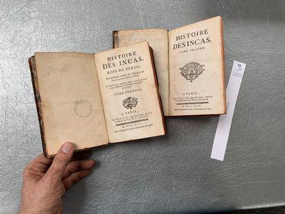 [Marmontel]. L'histoire des Incas, rois du...